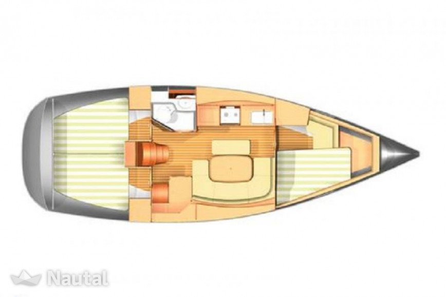 Sailing boat rent Dufour 365 GL in Port de Sant Antoni, Ibiza
