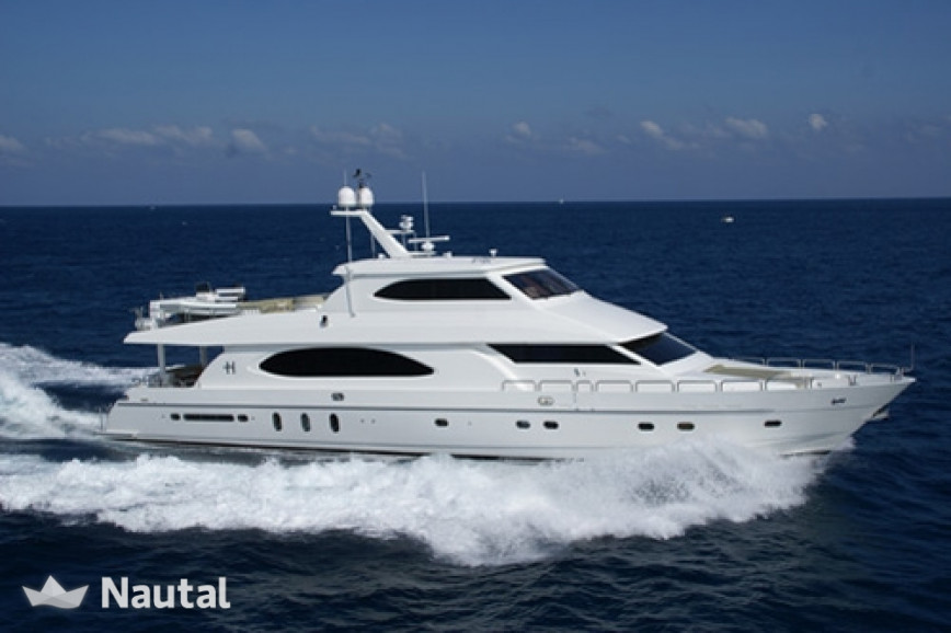 Yacht Hargrave 98ft In Miami Beach South Florida