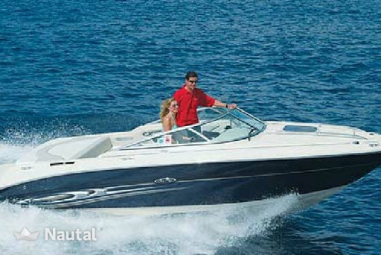 Motorboat rent Sea Ray 220 SSE in Barbat, Rab