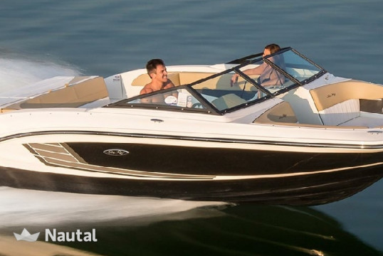 Motorboat rent Sea Ray 21 SPX in Barbat, Rab