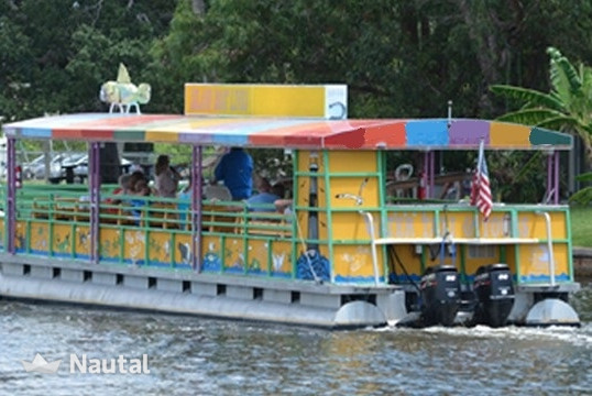 Motorboat rent Custom 27 passenger in Cocoa Beach, Central Florida