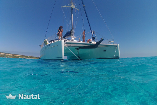 Catamaran rent Fontaine Pajot Belice 43 in Port d'Eivissa, Ibiza