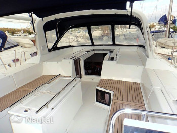 Sailing boat rent Beneteau Oceanis 55 in Lavrio Port, Athens