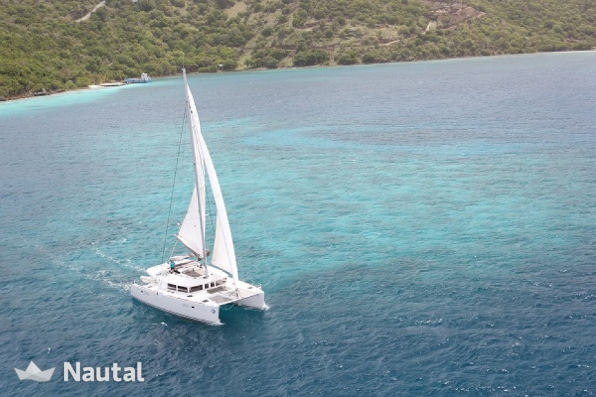 Catamaran rent Lagoon  450 in Hodge's Creek Marina, British Virgin Islands
