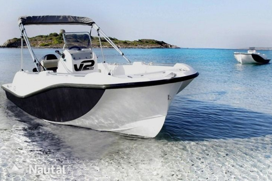 License free boat rent Custom 5.0 in Portocolom, Mallorca