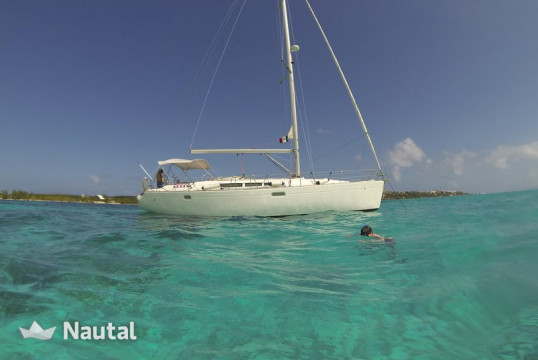 Sailing boat rent Jeanneau Sun Odyssey 45 in Marina V&V, Cancun