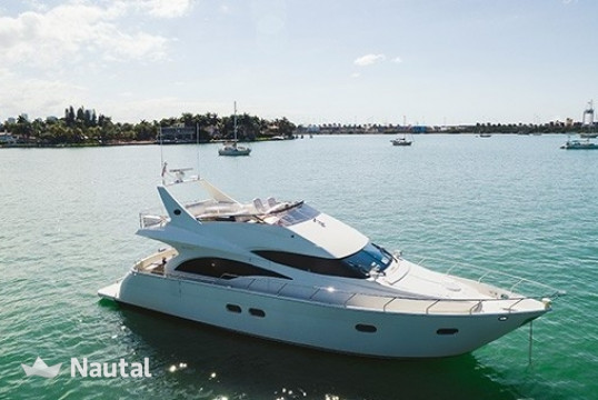 Yacht rent Marquis yachts 60' in Miami Beach, South Florida