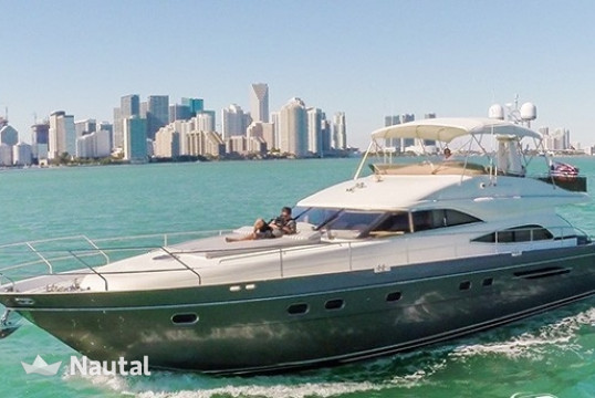 Yacht rent Princess 65ft in Miami Beach, South Florida