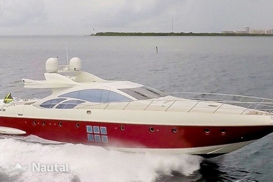 Yacht rent Azimut 86S in Miami Beach, South Florida