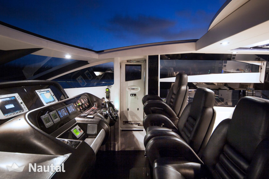 Yacht rent Sunseeker 74ft in Miami Beach, South Florida