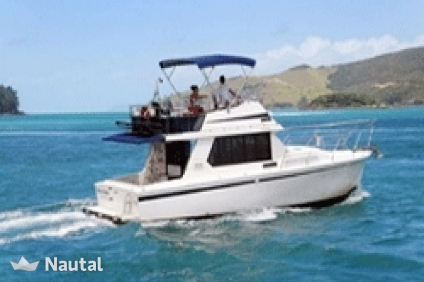 Motorboat rent Fairway  36 in Abell Point Marina, Whitsundays