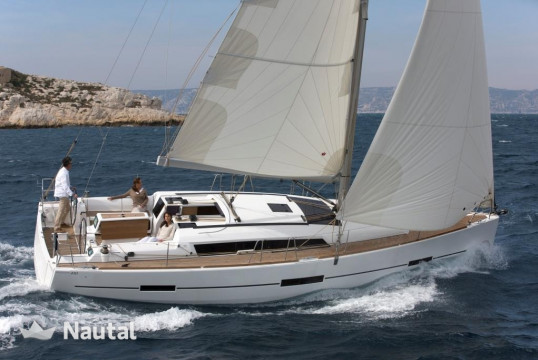 Huur zeilboot Dufour Yachts 412 Grand Large in Port Pin Rolland, Var