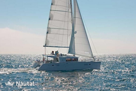 Huur catamaran Lagoon  450 with watermaker in Marina de Bas-du-Fort, Guadeloupe