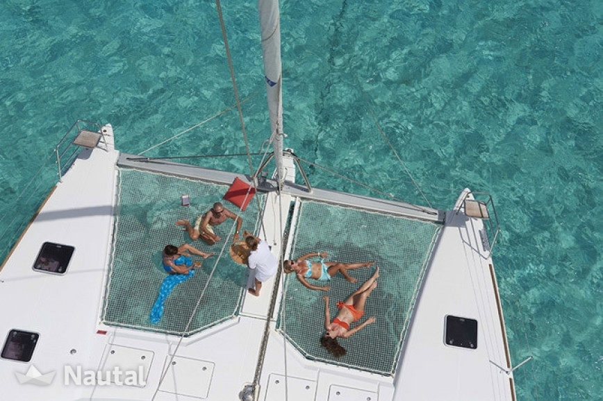 Catamaran rent Lagoon  620 Crewed in Palm Cay Marina, Bahamas