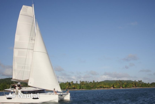 Huur catamaran Fountaine Pajot Saba 50 with watermaker & A/C - PLUS in Port du Marin, Martinique