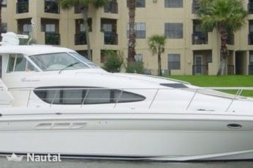 Motorboat rent Sea Ray 48 ft Sea Ray in Downtown Miami, South Florida