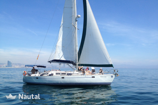Sailing boat rent Kirie Feeling 446 pte luxe in Port Barcelona, Barcelona