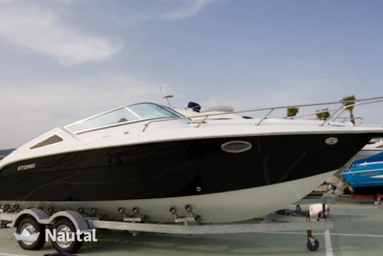 Rib rent Atomix 8.2 CC in Port d'Eivissa, Ibiza
