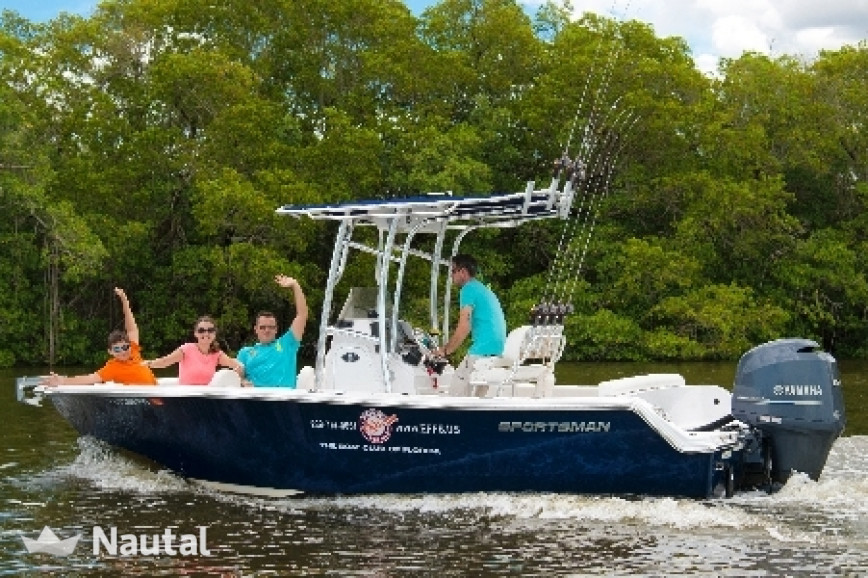 Excellent 4 hour fishing charter in naples with skipper for Rent fishing gear near me