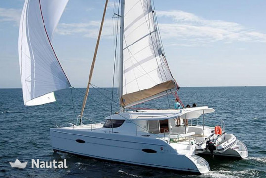 Catamaran rent Fountaine Pajot Lipari 41 Evolution in Port Pin Rolland, Var
