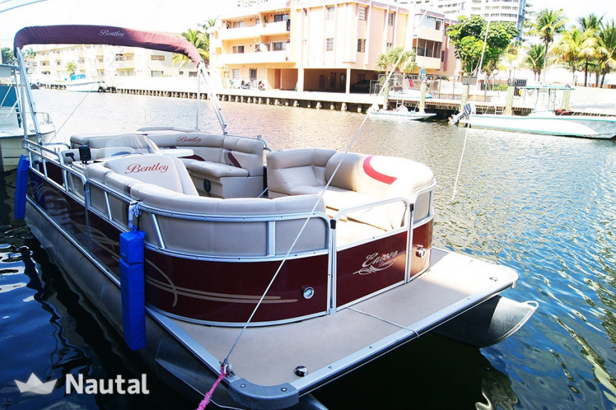 Motorboat rent Custom 240/243 Encore Bentley Cruise Model in Miami Beach, South Florida
