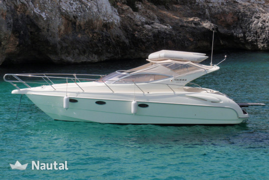 Motorboat rent Gobbi 32 in Porto Cristo, Mallorca