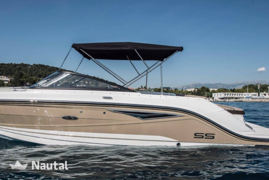 Motorboat rent Sea Ray 250 SS in Barbat, Rab