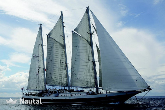 Sailing boat rent Custom Trainingsschip in Wilhelminakade, South Holland