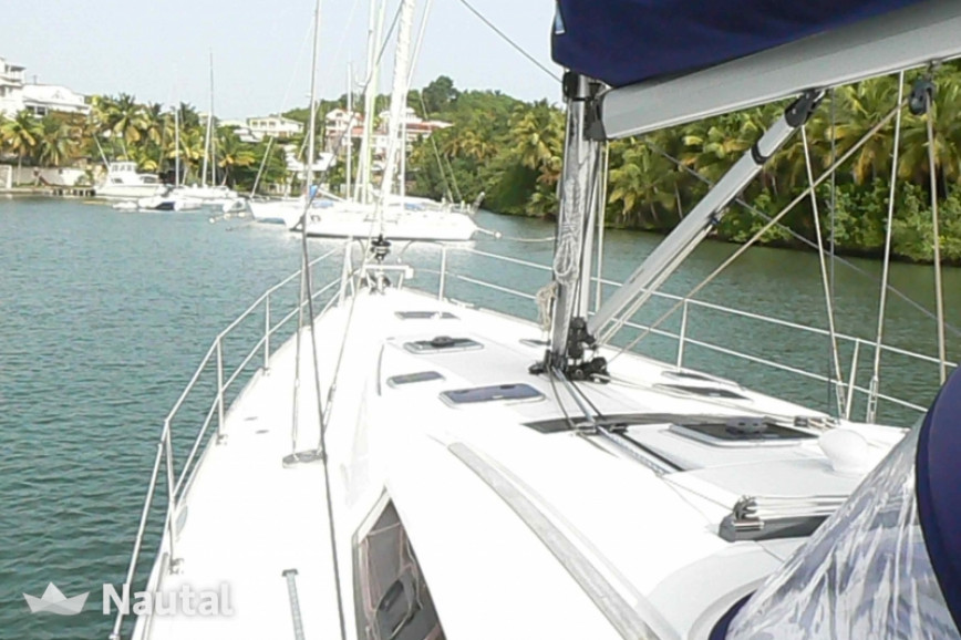 Sailing boat rent Beneteau Oceanis 54  in Port du Marin, Martinique