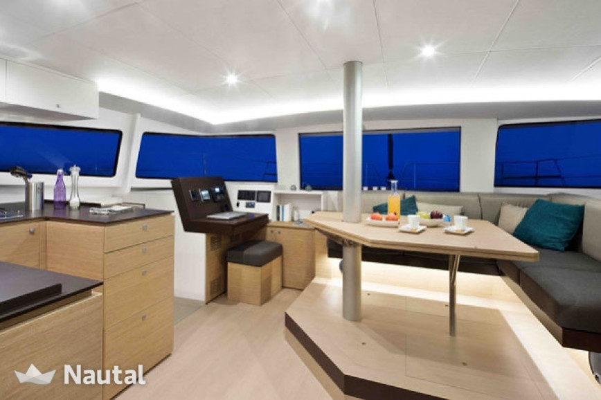 Catamaran rent Catana Bali 4.5 with watermaker & A/C - PLUS in Port of Paros, Paros