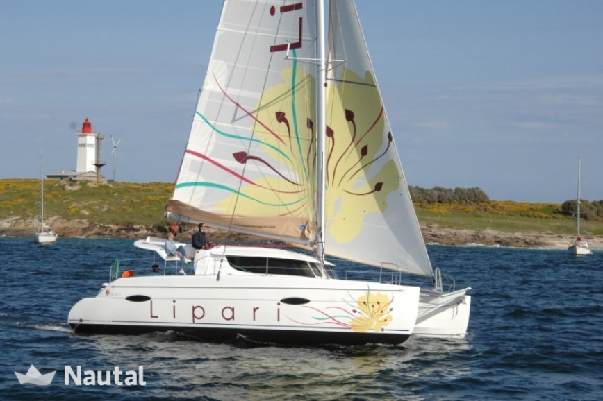 Catamaran rent Fountaine Pajot Lipari 41 O.V. in Harbour View Marina Marsh Harbour, Bahamas