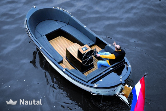 Motorboat rent Custom iSloep 585 in Uithoorn, North Holland