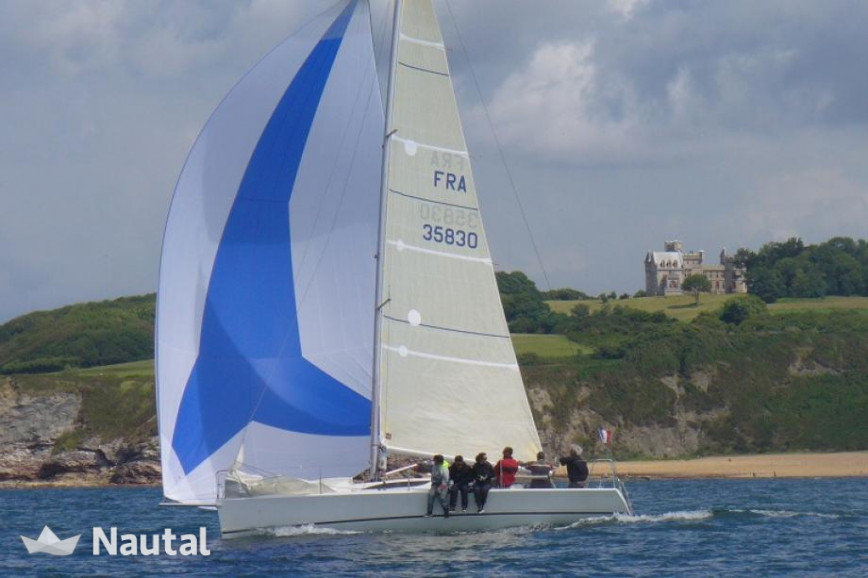 Sailboat grand surprise 954m up to 8 people in hendaye nautal sailing boat rent archambault grand surprise in port de la floride atlantic pyrenees altavistaventures Image collections