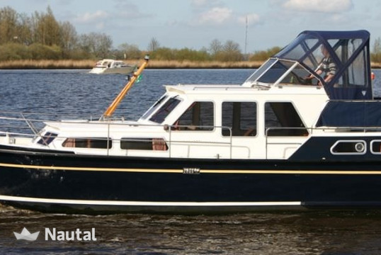 Huur motorboot Aquanaut 1000 in Terherne, Friesland