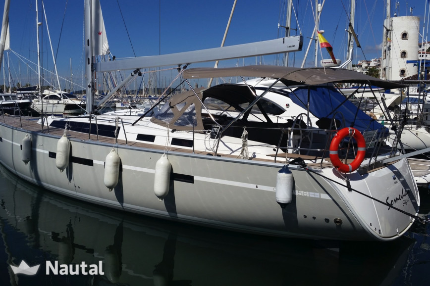 Sailing boat rent B-yachts 56 Cruiser in Sitges, Barcelona