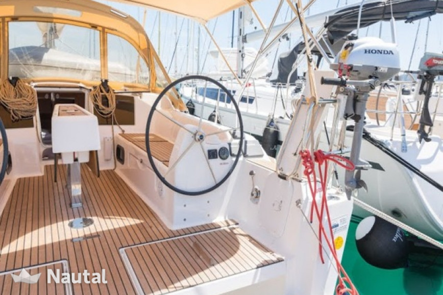 Sailing boat rent Dufour Yachts  382 Grand Large in Marina Kastela, Split, Hvar