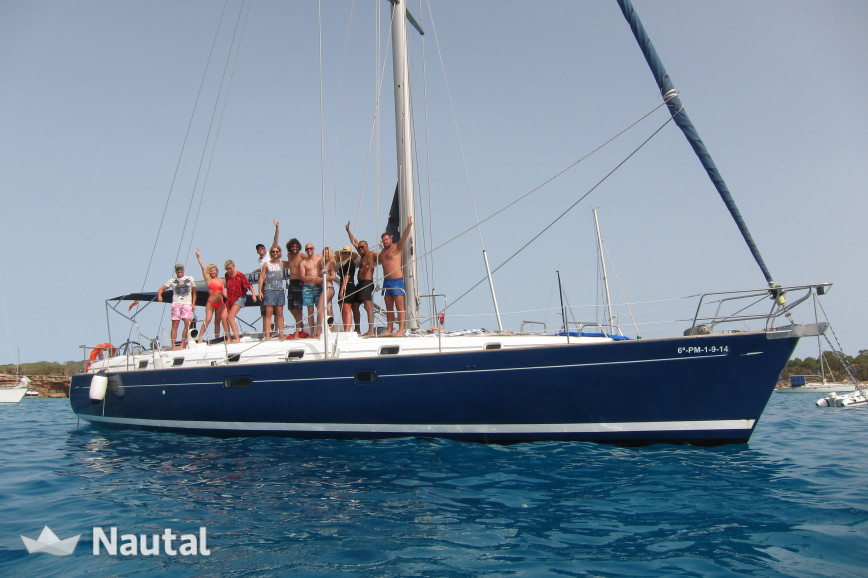 Sailing boat rent Beneteau 50 in Port d'Eivissa, Ibiza