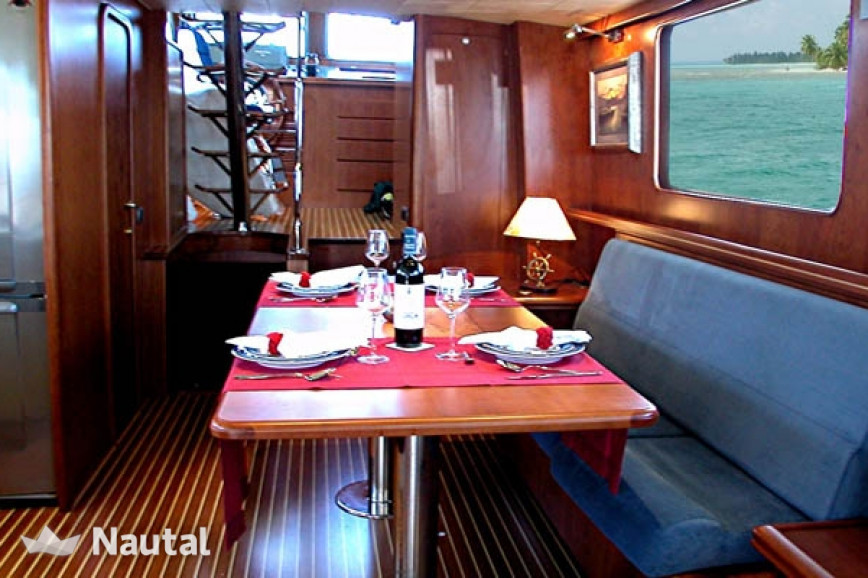 Yacht rent Custom Trawler 60' in Port Fòrum, Barcelona