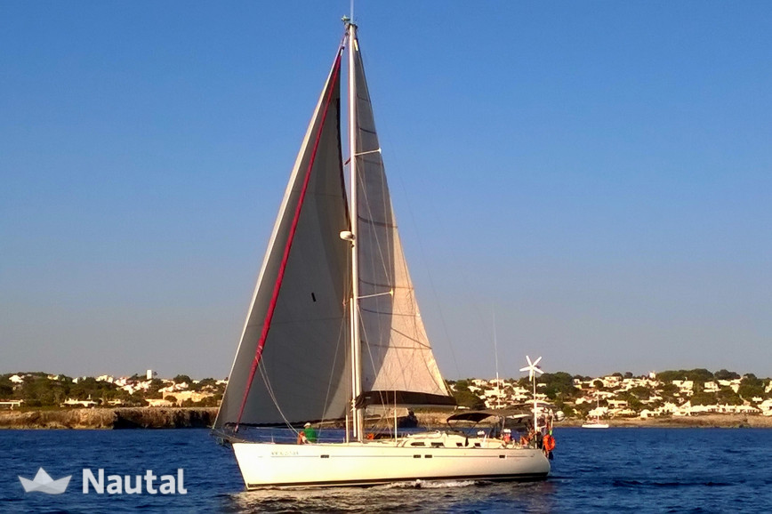Sailing boat rent Beneteau Oceanis 473 in Port Olímpic, Barcelona