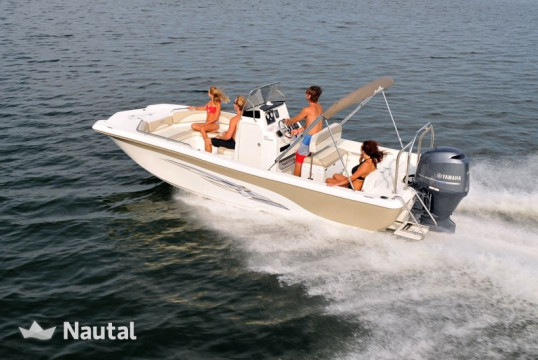 Motorboat rent Custom Nauticstar 210 in Hollywood, South Florida