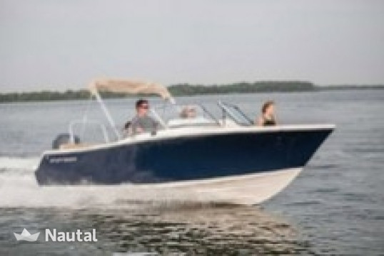 Motorboat rent Custom 21' Nauticstar Dual Console in Hollywood, South Florida