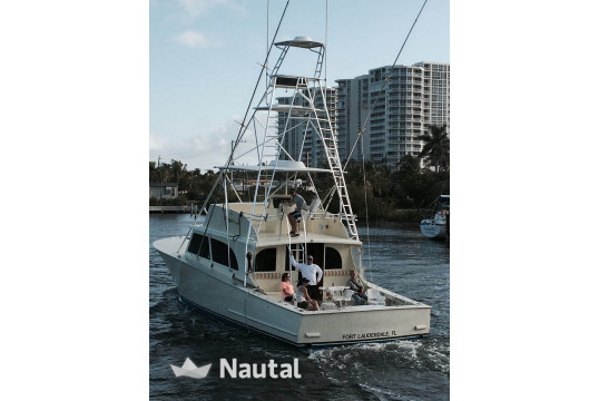 Huur sloep Custom Carolina 50' in Hollywood, Zuid-Florida