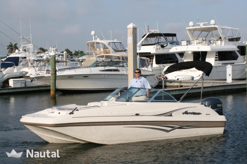 Motorboat Rent Custom 21ft Hurricane Bowrider In Fort