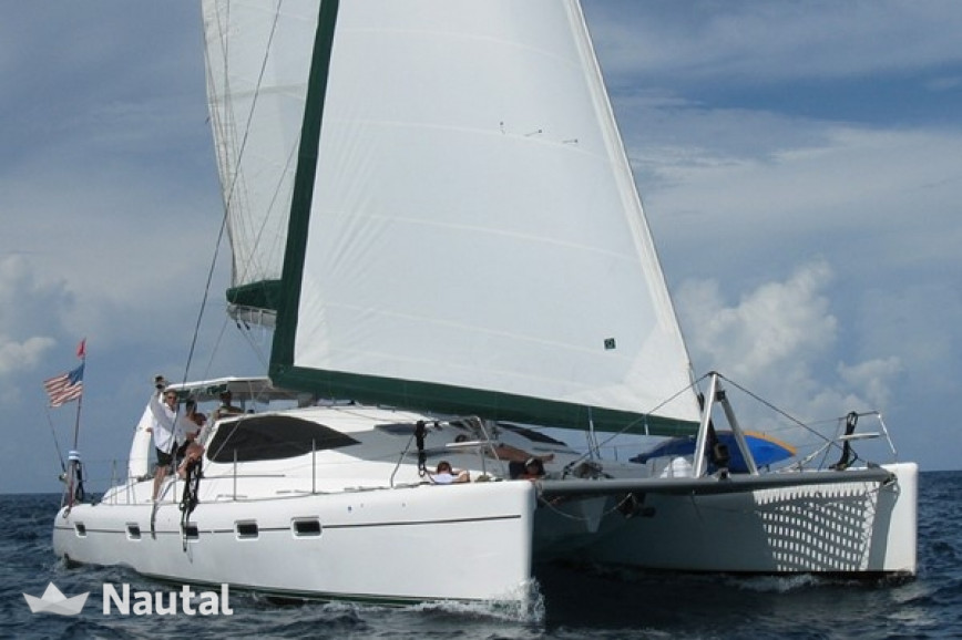 Catamaran Admiral Yachts 50 In Miami Beach South Florida