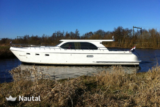 Houseboat rent Aqualine 46 OK in Heerenveen, Friesland