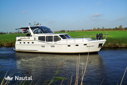 Houseboat rent Aqualine 46 AK in Heerenveen, Friesland