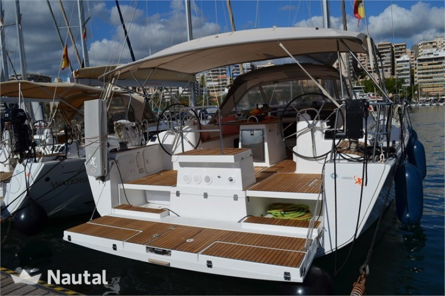 Sailing boat rent Dufour  500 Grand Large (4Cab) in Puerto de Palma, Mallorca