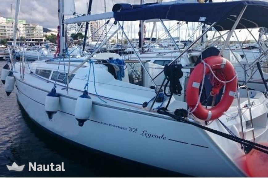 Sailing boat rent Jeanneau  SO 32i in Port de Sant Antoni, Ibiza