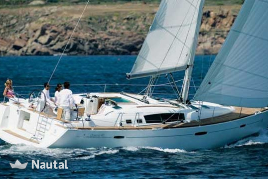 Sailing boat rent Beneteau Oceanis 46 - 4 cab. in Portocolom, Mallorca