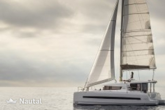 Catamaran rent Bali  4.0 O.V. with AC in Harbour View Marina Marsh Harbour, Abacos